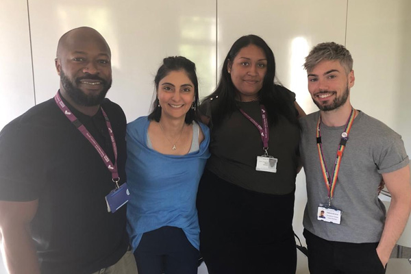 King's Health Partners Pathway Homelessness Team Image